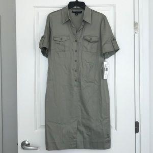 NWT Sharagano Shirt Dress